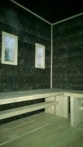 Seinässä piiluhirsi 28x195 savusauna