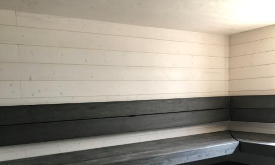 Sauna valkoinen  STS 18x145